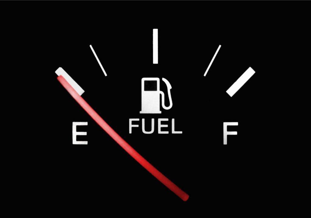 empty gas tank allen tx