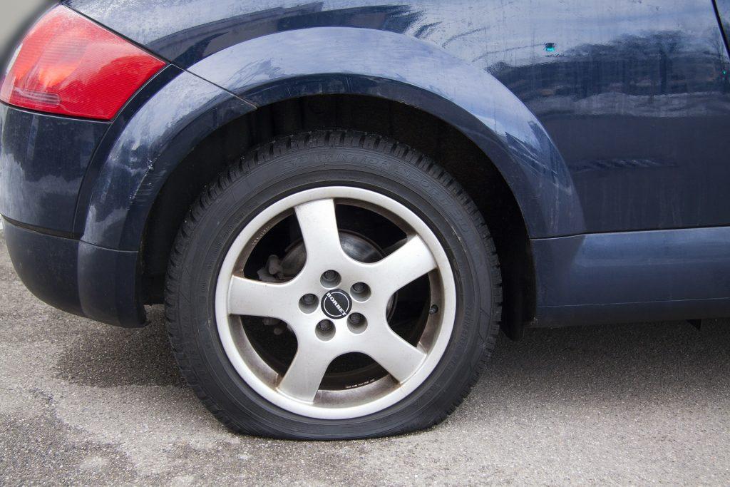 car flat tire allen tx